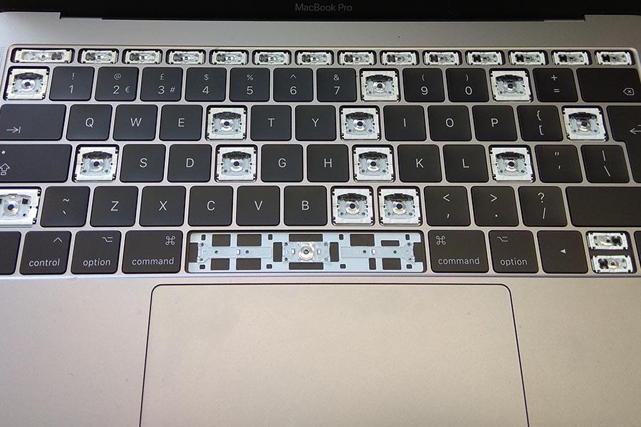 MacBook toetsen reparatie