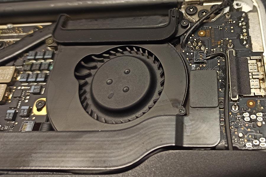 MacBook ventilator reparatie
