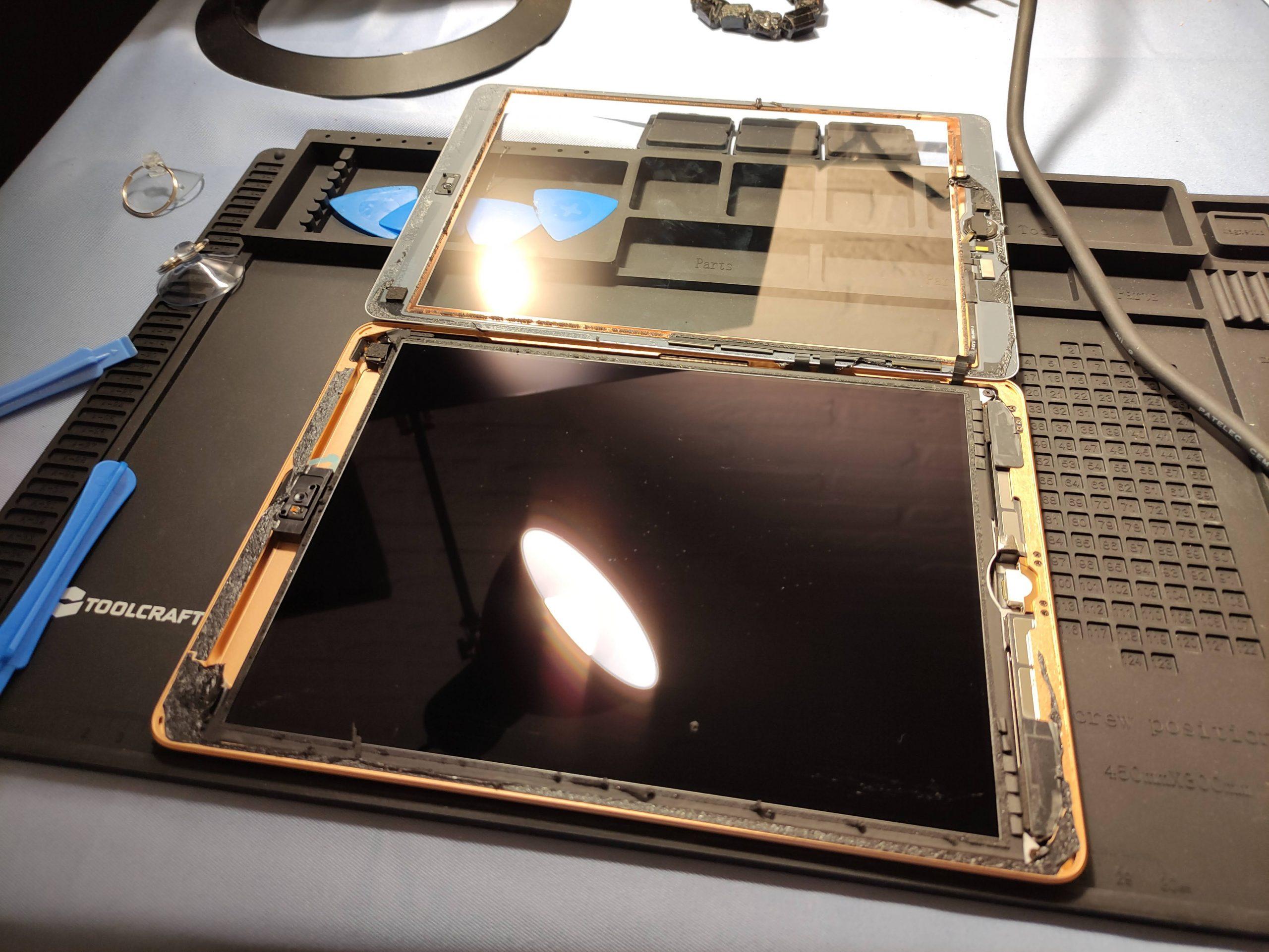 ipad reparatie scherm vervangen